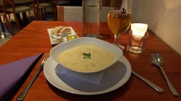Abendessen im Hotel Varmahlíð