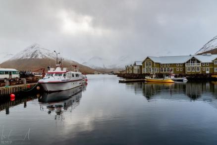 Der Hafen von Siglufjörður