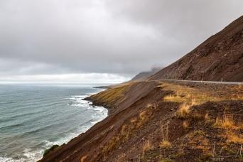 Die Nordküste westlich von Siglufjörður