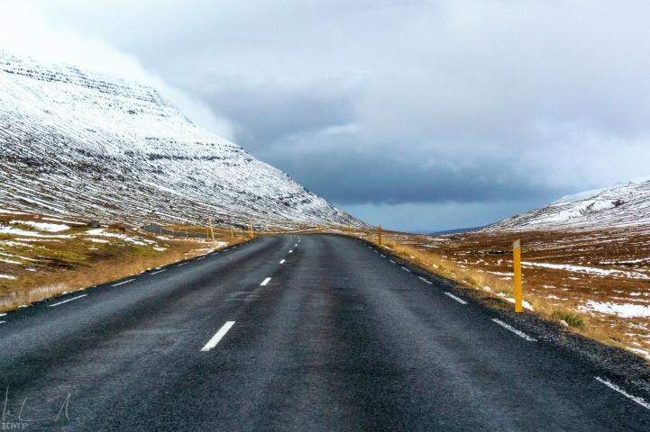 Pass vor Egilsstaðir
