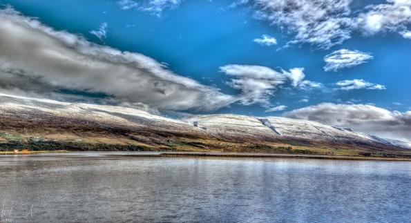 Der Eyjafjörður bei Akureyri