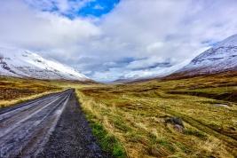 Lágheiði - Blick auf Ólafsfjörður