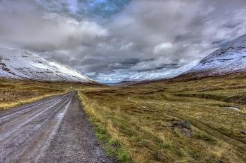 Lágheiði Blick auf Ólafsfjörður