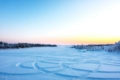 3. Tag – Schönes, aber kaltes Wetter in Inari