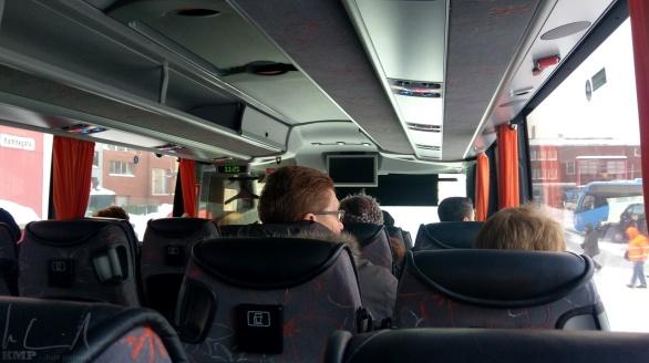 Auf Stadtführung in Hammerfest