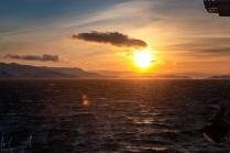 Sonnenaufgang über Hammerfest