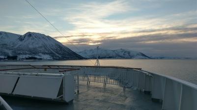Sonnenaufgang über den Vesterålen
