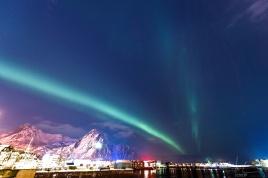 Nordlichter über Svolvær