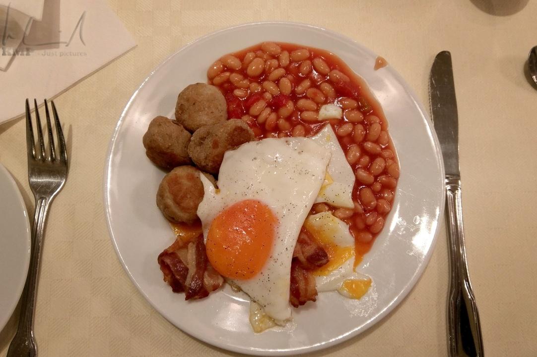 Frühstück auf der MS Finnmarken
