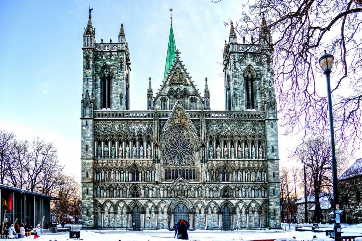 Der Nidarosdom von Trondheim