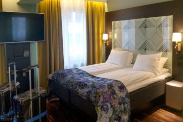 Mein Zimmer im Thon Hotel Orion in Bergen
