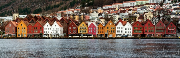 Bryggen, das Hanseviertel von Bergen