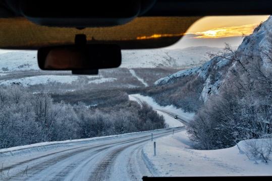 Kurz vor Kirkenes