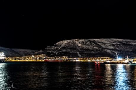 Tromsø nach Mitternacht