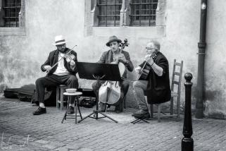 Strassenmusiker in der Altstadt