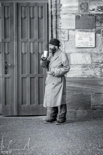 Bettler beim Martinsmünster
