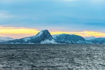 Unterwegs Richtung Süden zwischen den Inseln der Lofoten