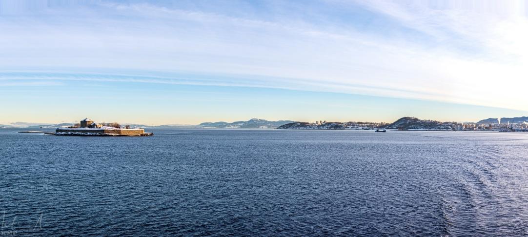 Abfahrt in Trondheim
