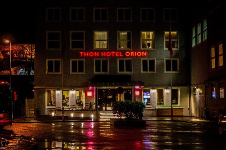 Thon Hotel Orion - meine Unterkunft