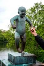 Figur des Bildhauers Gustav Vigeland