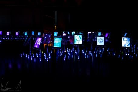 Installation im Friedensnobelpreis Center