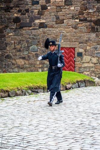 Wache in der Festung Akershus