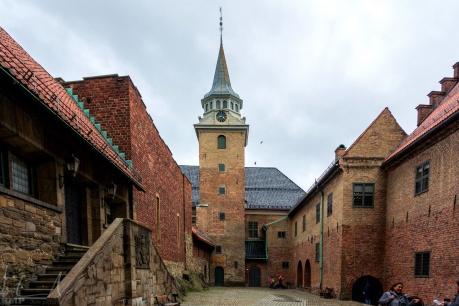 Im Innern der Festung Akershus
