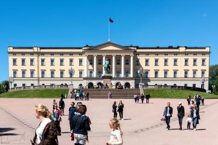 Det Kongelige Slott - das königliche Schloss