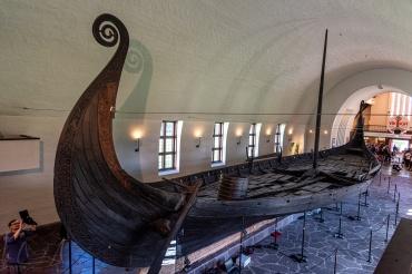Das Osebergschiff aus dem 10. Jahrhundert