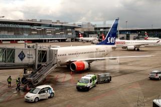 SK 842 @flysas (Zürich - Oslo) am Flughafen Zürich