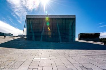 Auf dem Dach der Oper