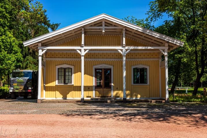 Das Haus der Palast Wache auf dem Slottsplassen