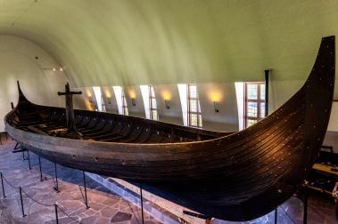 Das Gokstad Schiff im Vikingskipshuset