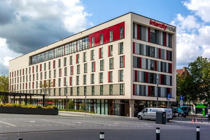 Meine Unterkunft: Das Intercity Hotel direkt am Bahnhof