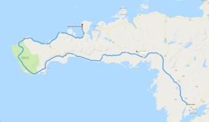 2. Etappe von Borgarnes nach Grundarfjörður