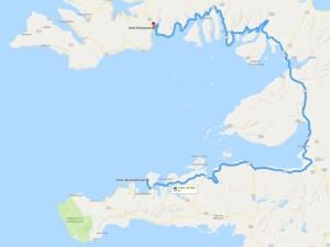 3. Etappe von Grundarfjörður nach Flókalundur