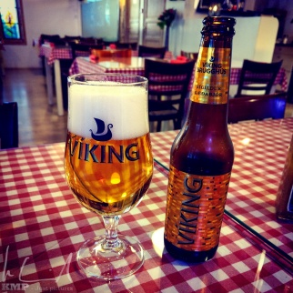 Das erste Bier in Island