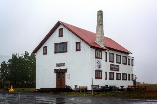 Das Cafe Dunhagi in Tálknafjörður