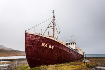 Das älteste Stahlschiff Islands