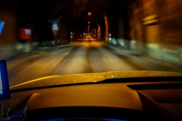 Fahrt durch den Tunnel nach Ísafjörður