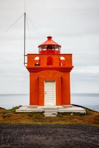 Der Leuchtturm von Bolungarvik