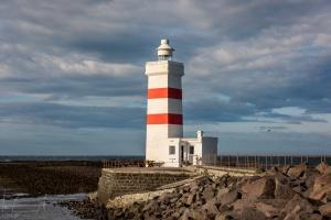 Der alte Leuchtturm von Garður