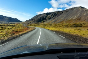 on the road to Snæfellsnes