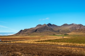 on the road to Snæfellsnes Nationalpark