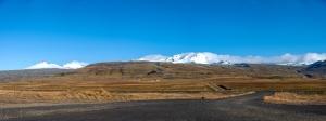 on the road auf der Snæfellsnes Halbinsel