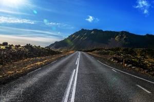 on the road to Arnarstapi