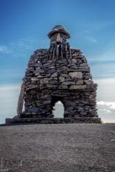 Bárðar Saga Snæfellsáss Statue in Arnarstapi