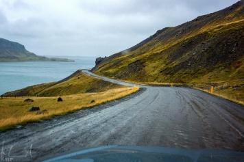 on the road nach Flókalundur
