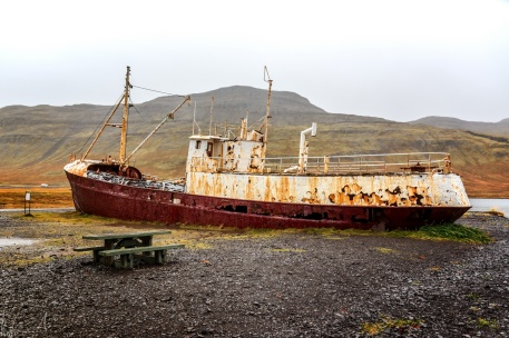 Garðar BA 64 - das erste isländische Schiff aus Stahl