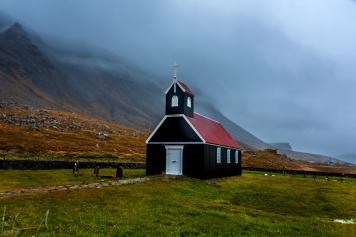 Saurbæjarkirkja am Rauðisandur